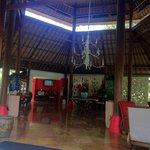 Tropical outdoor reception