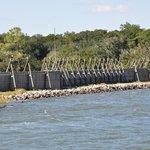 Fort Caroline - Front River View