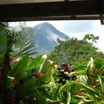 Arenal Volcano From Room