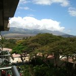 view of mountains from the lanai