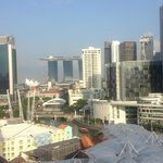 view from 12th floor towards Singapore CBD