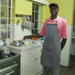Kitchen of Sandavy Guest House and Chef Moses