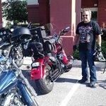 Bike fest Motorcycle parking lot - Hampton Inn Tavares