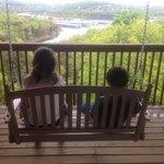 Kids enjoying the view.