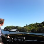 Listening to Lake Rotorua History while having fun