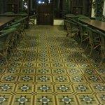 floor in the banquet area