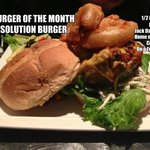 SPECIAL BURGER OF THE MONTH