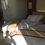Sea View Room bedding