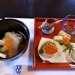 Appetizer including Sea Urchin
