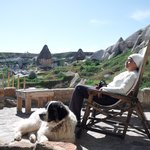 My retirement dream, a dog and a cave.