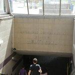 最寄のメトロ駅