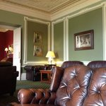 One of the sitting rooms