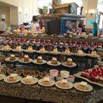 the buffet, dessert