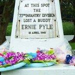 Ernie Pyle Monument