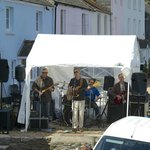 """Rock on the beach at """"The Ferry Boat Inn"""""""