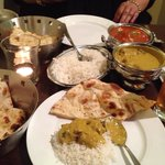 Delicious Indian food at Indigo