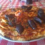 Pizza fruit de mer , un pur bonheur