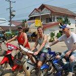 Renting bikes - go team go