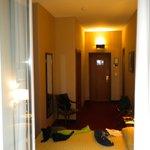 chambre 23 depuis le balcon