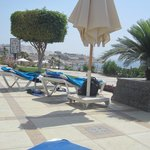 View from my sunbed at Pool 4