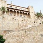 esterno Palazzo de l'Almudaina