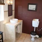 Newly renovated bathroom, Room 4