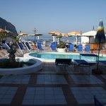 Poolbereich/Terrasse