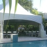 Events lawn fits a large tent