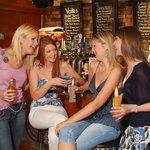 Girls Having Cocktail @ Revolution Bar, Waterford