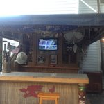 The tiki bar :)