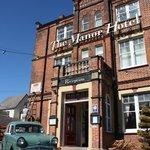 Manor Hotel front door