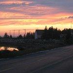 Sunset over Mahone Bay