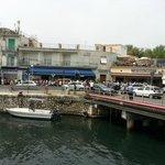 Il Centro Ittico Cooperativa dei Pescatori di Terracina si trova sul porto della città