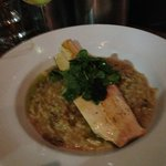 Trout and Truffle Risotto