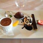 Quadrilogie de chocolat (excellent)