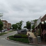 View of Main St outside Senoia Coffee and Cafe