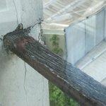 Tres dangereux l'appui de la fenêtre