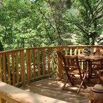 Terrasse Cabane de Lily