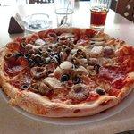 Maltese pizza.