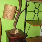 Typical Art Decoration Lamp in room