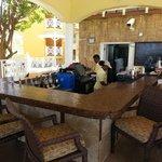 dining area near main pool