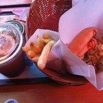 Terryaki burger