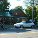 early morning bike shop!