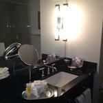 Nice bathroom with Makeup Mirror