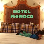 This is how much our kids loved Hotel Monaco!