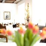 unser Hauptrestaurant im 300 Jahre alten Haus