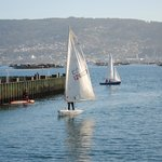 Puerto Deportivo de Moaña, deportes de agua