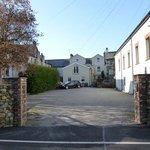 Linnett Hill's private car park