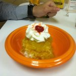 fantastic Mexican fried ice cream !!!
