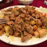 Pork, Clams & Roast Potatoes!